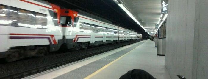 Estación RENFE Passeig de Gràcia is one of Reino de España.