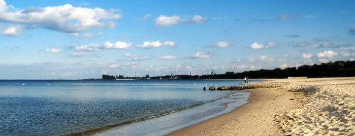 Plaża Jelitkowo is one of Tomek'in Beğendiği Mekanlar.