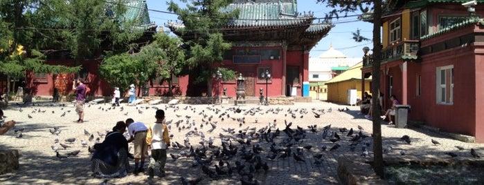 Gandan Monastery is one of Pelin 님이 좋아한 장소.