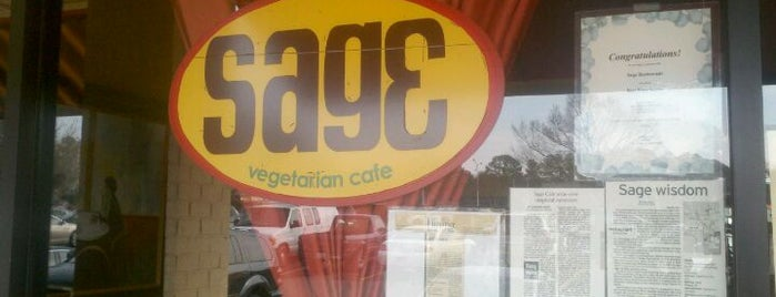 Sage Cafe is one of Chapel Hill & Carrboro Favorites.