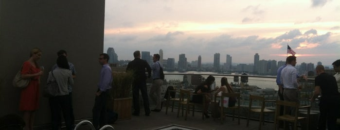 JIMMY at The James is one of Best Rooftop and Outdoor Bars in New York City.