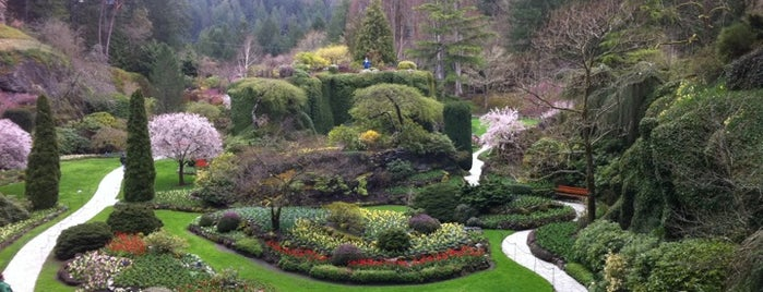 Butchart Gardens is one of Best of World Edition part 1.