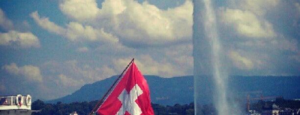 Jet d'Eau de Genève is one of Best places.