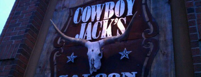 Cowboy Jack's is one of Brooke 님이 좋아한 장소.