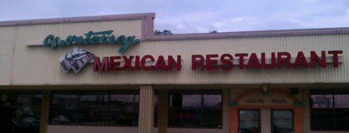 Monterrey Mexican Restaurant is one of Restaurants.