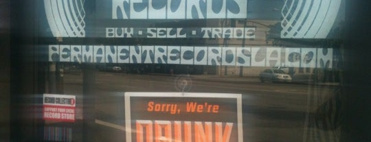Permanent Records is one of Record Shops.