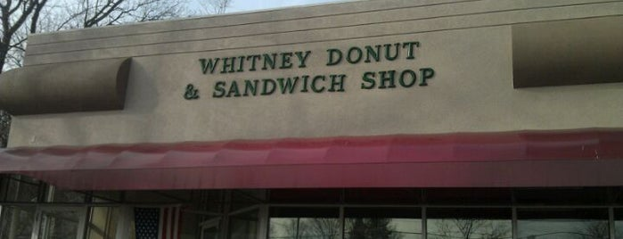 Whitney Donut Shop is one of Lugares favoritos de Tim.