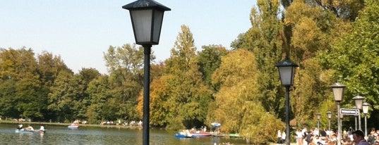 Seehaus im Englischen Garten is one of I Love Munich!.