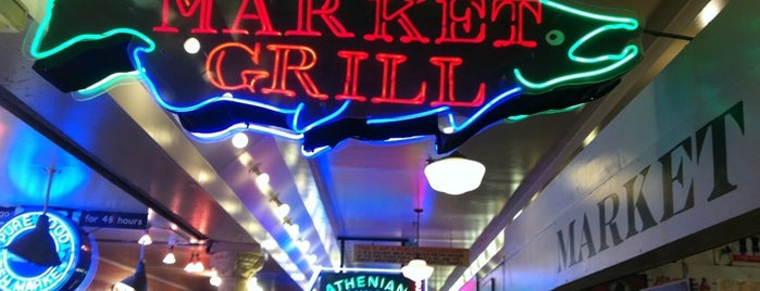 Market Grill is one of Seattle Seafood Restaurants.