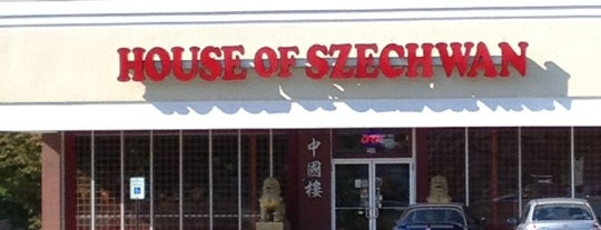House of Szechwan is one of Favorite Chinese Restaurants.
