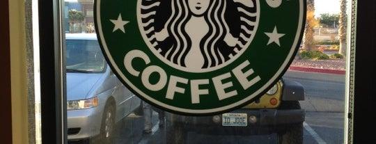 Starbucks is one of barbee 님이 좋아한 장소.