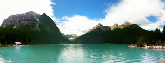 Lake Louise is one of The Ultimate Bucket List.