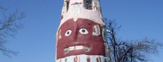 Ed Galloway's Totem Pole Park is one of Historic Route 66.