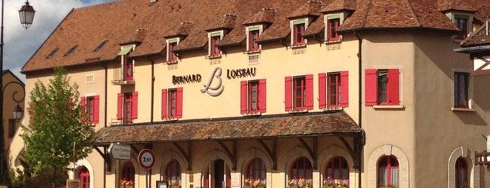 Relais Bernard Loiseau is one of Haute Cuisine Internat.