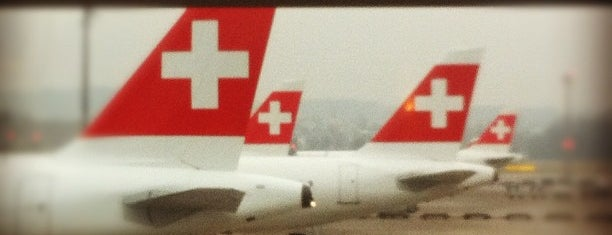 Аэропорт Цюрих (ZRH) is one of I Love Airports!.