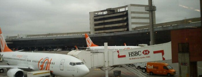 Aeroporto Internacional de São Paulo / Guarulhos (GRU) is one of Aeroportos do Brasil.