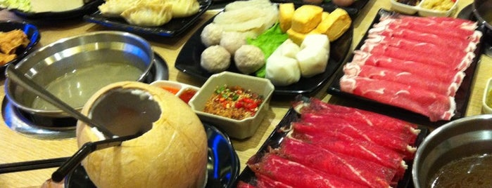 Shabu Garden (绿味园) is one of Yummies.
