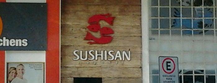 Sushi San is one of Lieux qui ont plu à Katy.
