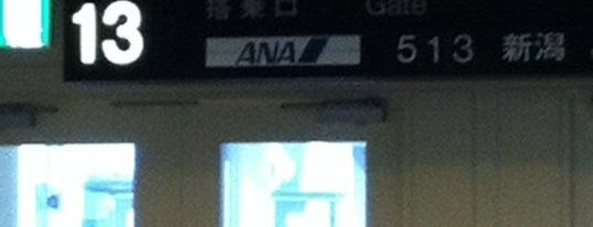Gate 13 is one of 大阪国際空港(伊丹空港) 搭乗口 ITM gate.