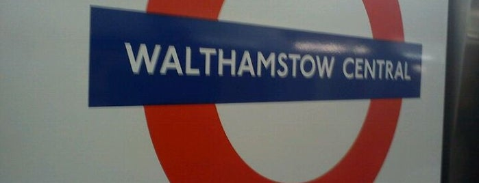 Walthamstow Central London Underground Station is one of Underground Stations in London.
