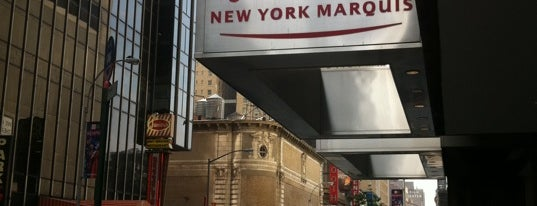 New York Marriott Marquis is one of Big Country's Favorite Hotels.