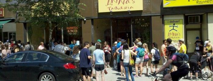 Anna's Taqueria is one of Boston.