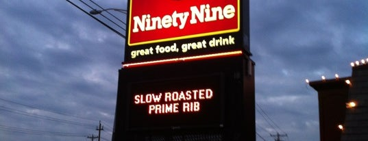 Ninety Nine Restaurant is one of Best of Salem, NH.
