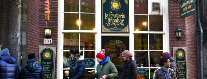 La Fruteria is one of TO EAT in AMSTERDAM 🐏.