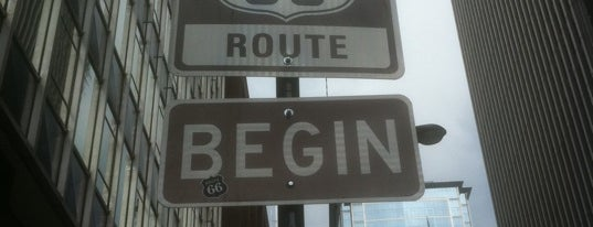 The Beginning Of Route 66 is one of 101 places to see in Chicago before you die.