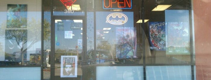 Rogues Gallery Comics and Games is one of Todo in Austin.