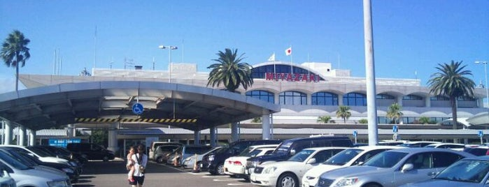 Miyazaki Bougainvillea Airport (KMI) is one of Airport.