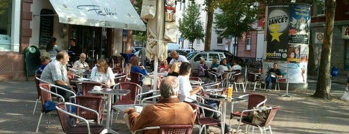 Cafe Fellini is one of Frankfurt.