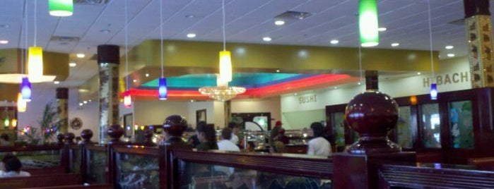 Hibachi Grill Supreme Buffet is one of Lugares favoritos de Tania.