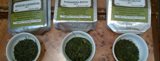 Lupicia Fresh Tea is one of Tempat yang Disimpan E.