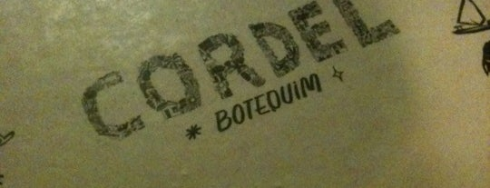 Cordel Botequim is one of To Go.