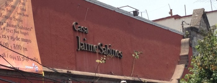 Casa de la Cultura Jaime Sabines is one of Frances 님이 저장한 장소.