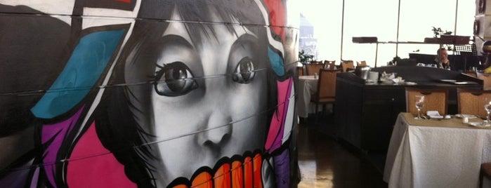 Giratorio Restaurant is one of Santiago.