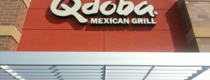 Qdoba Mexican Grill is one of rorybn1p 님이 저장한 장소.