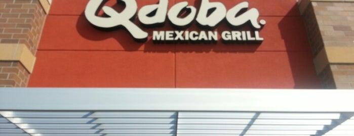 Qdoba Mexican Grill is one of Lugares guardados de rorybn1p.