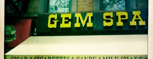 Gem Spa is one of NY.