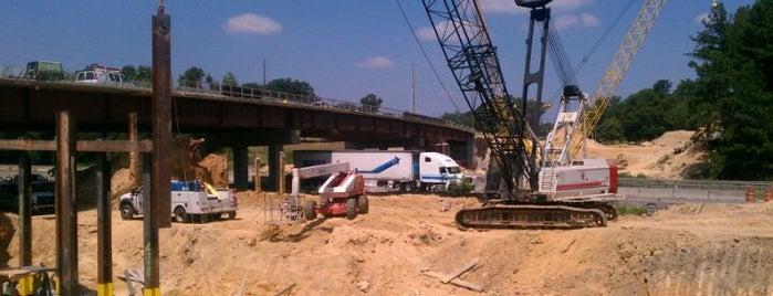 Gravel Springs Rd (SR 324) Bridge Over I-85 is one of สถานที่ที่ PrimeTime ถูกใจ.
