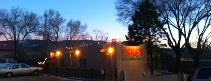 Eske's Brewpub is one of Taos.