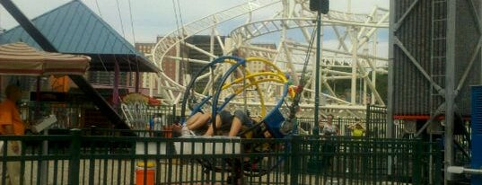 Slingshot is one of Top Picks for having Fun in Coney Island.