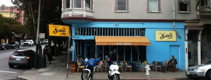 Le Café du Soleil is one of All SF.