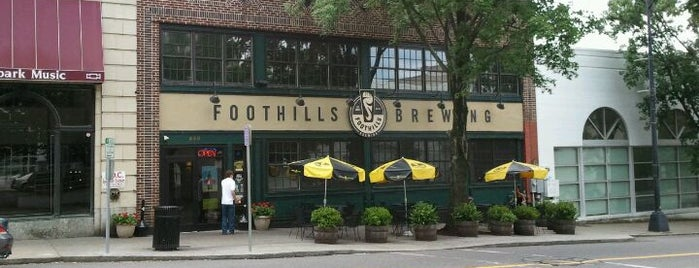 Foothills Brewing is one of NC Craft Breweries.
