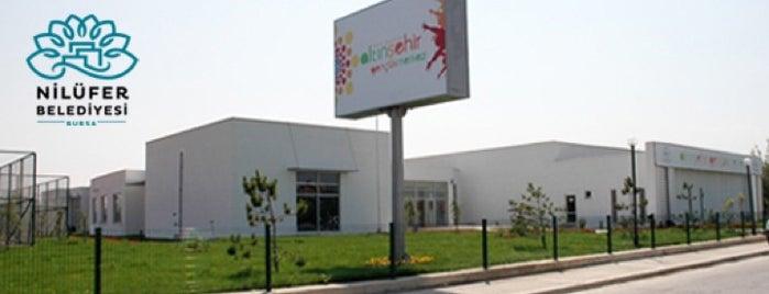 Altınşehir Gençlik Merkezi is one of Nilufer-4SQ.