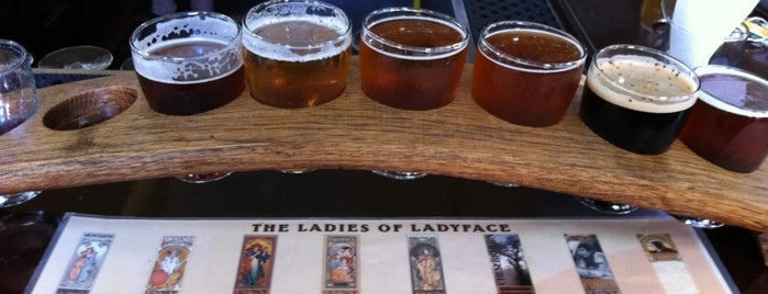 Ladyface Alehouse & Brasserie is one of Craft Beer in LA.