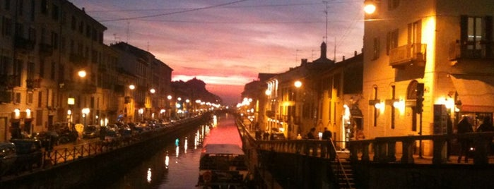 Naviglio Grande is one of Milano.