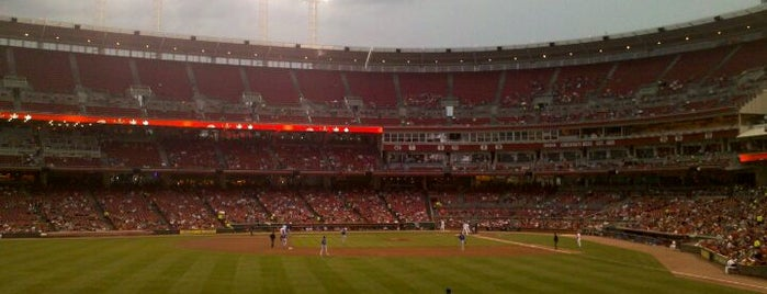 Great American Ball Park is one of Major League Baseball Parks.