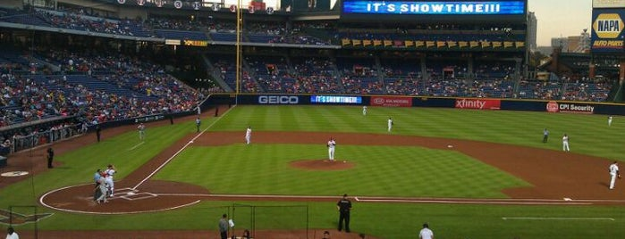 Turner Field is one of Baseball Stadiums.